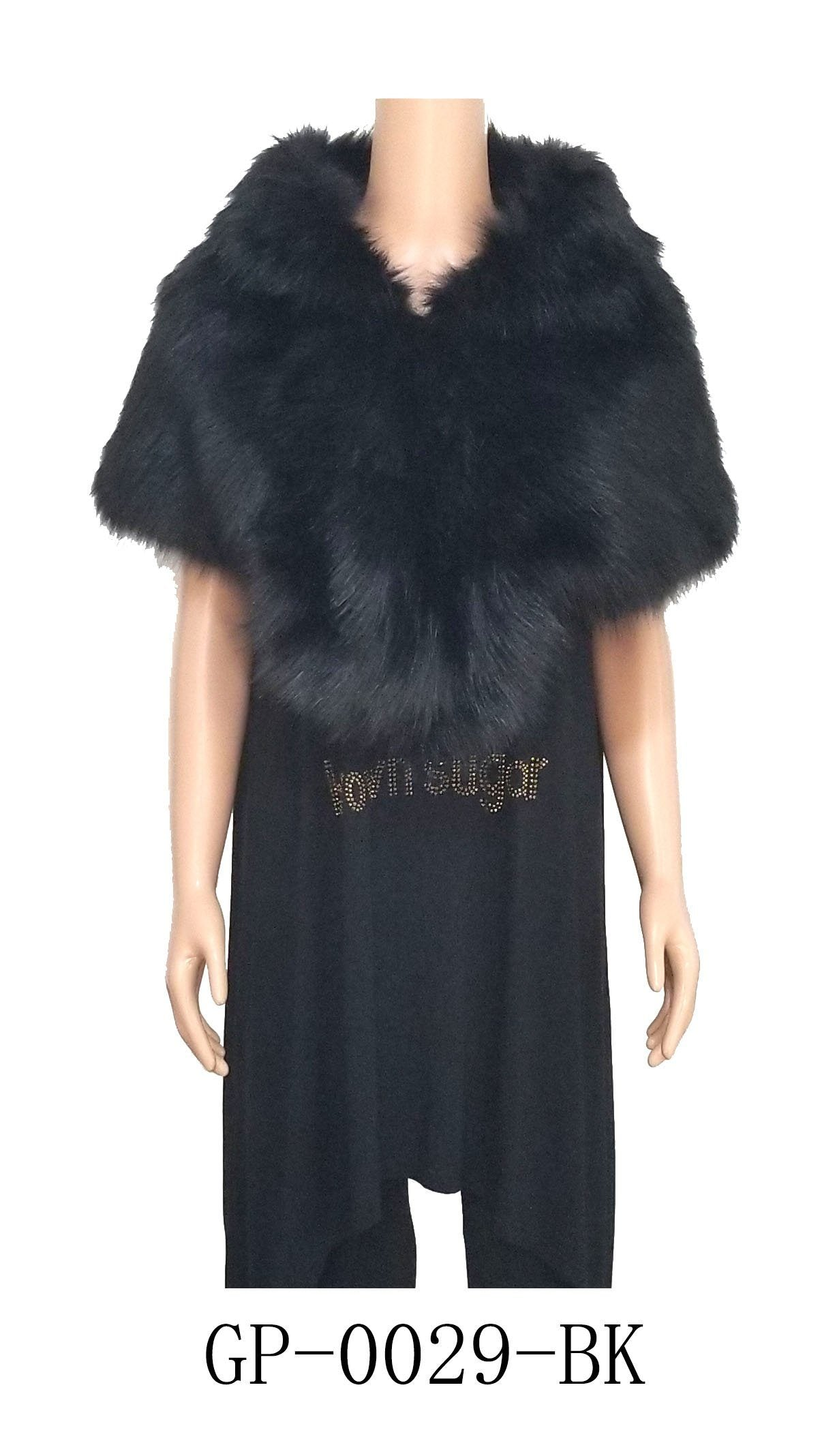 Fur Top Black#GP0029 (PC)