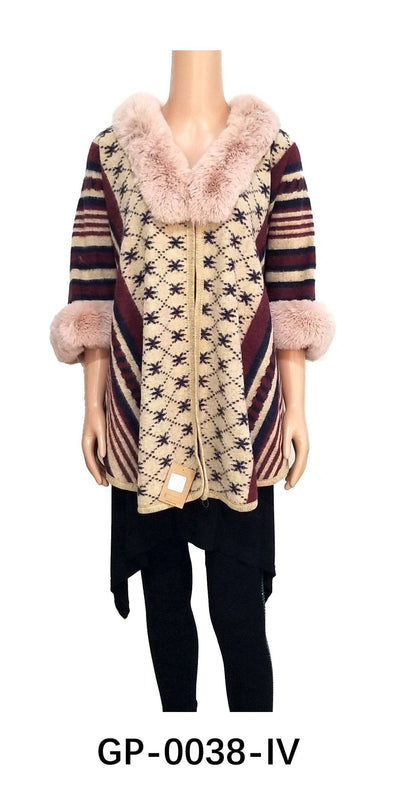 Fur Pattern Cardigan #GP0038 (PC)