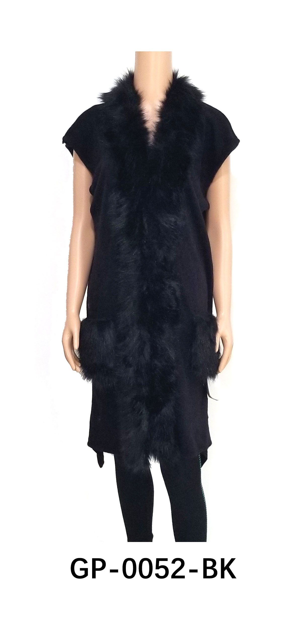 Fur Cardigan Vest #GP0052 (PC)