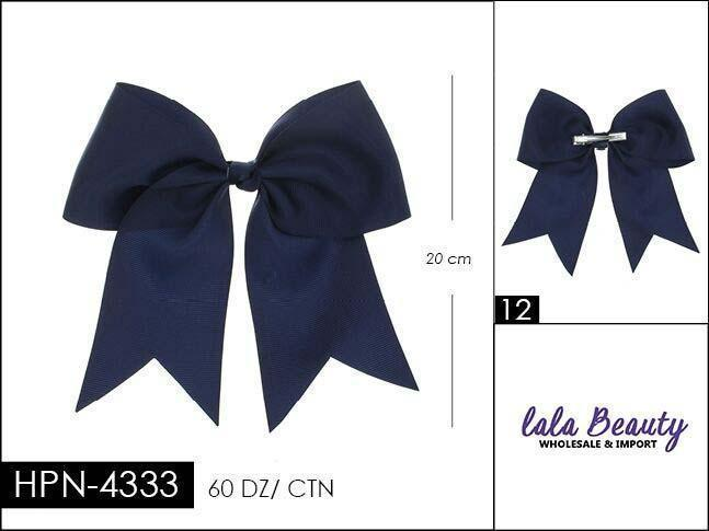 Cheer Bow #HPN4333 Navy (Dozen)