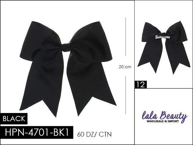 Cheer Bow #HPN2605 Black (Dozen)