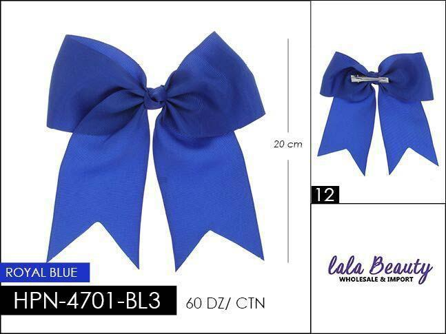 Cheer Bow #HPN2612 Royal Blue (Dozen)