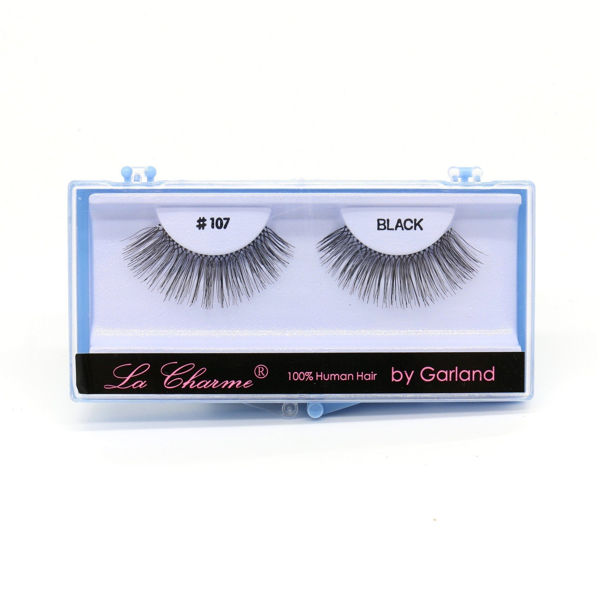 Blue Case Eyelash, #107 (6PC)
