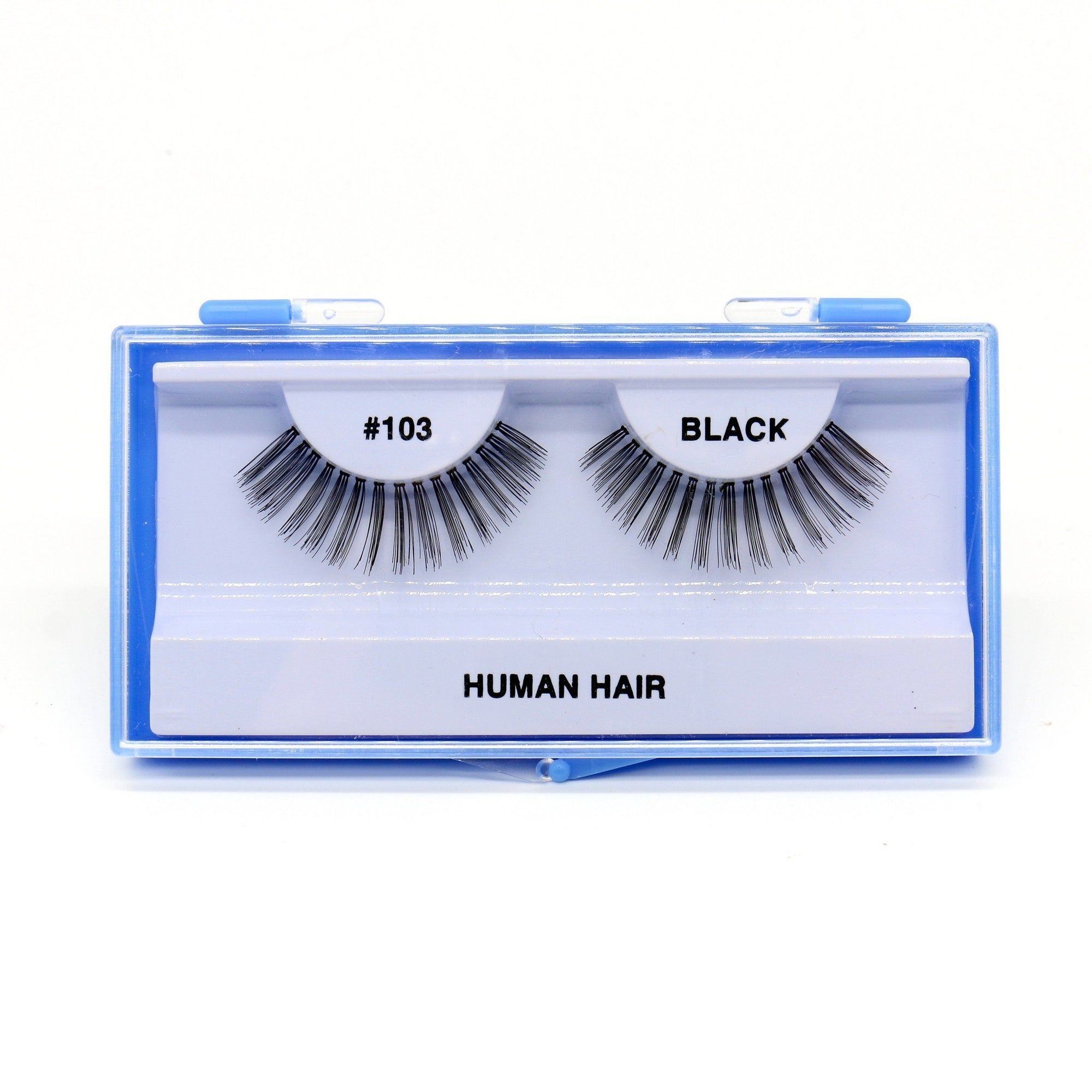 Blue Case Eyelash, #103 (6PC)