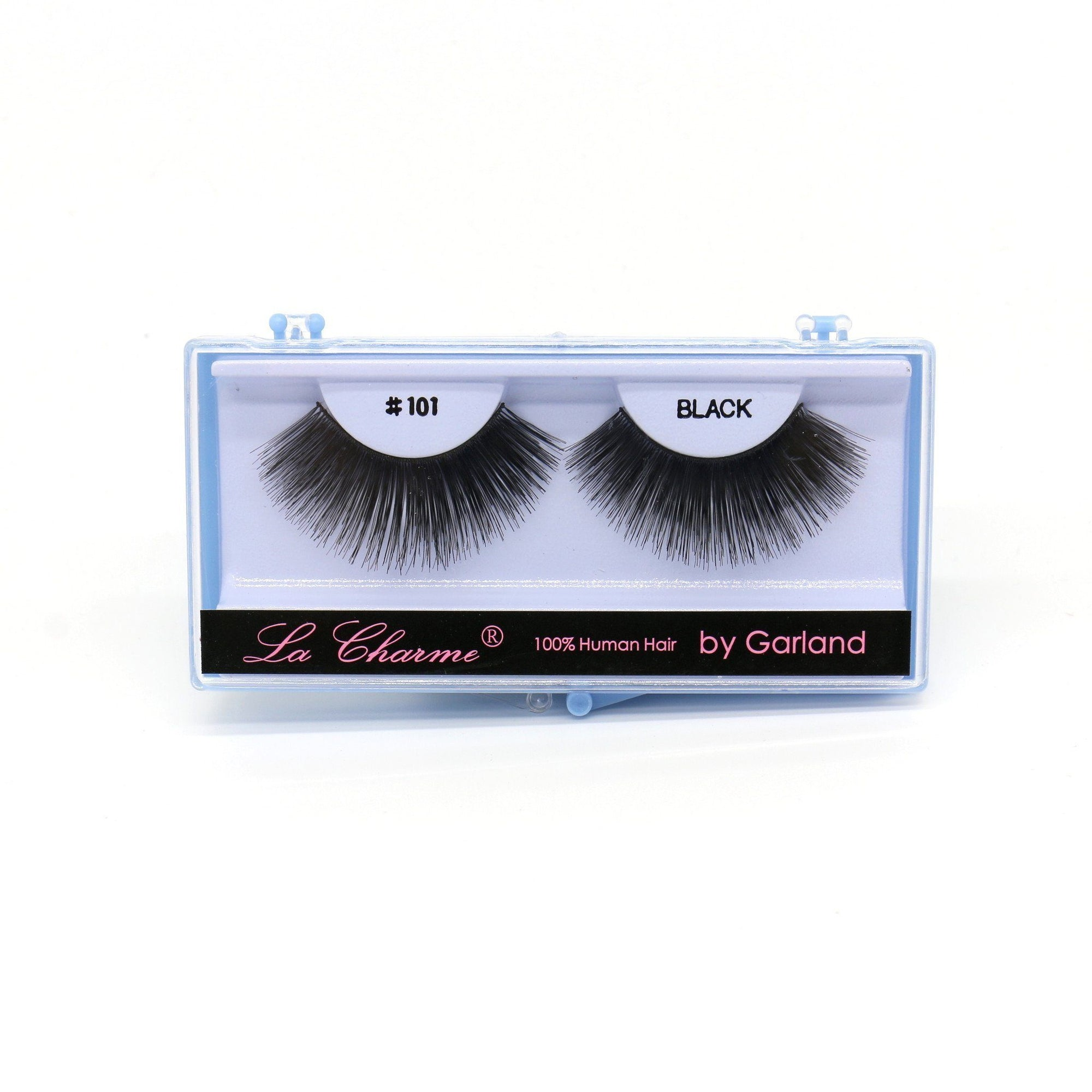 Blue Case Eyelash, #101 (6PC)