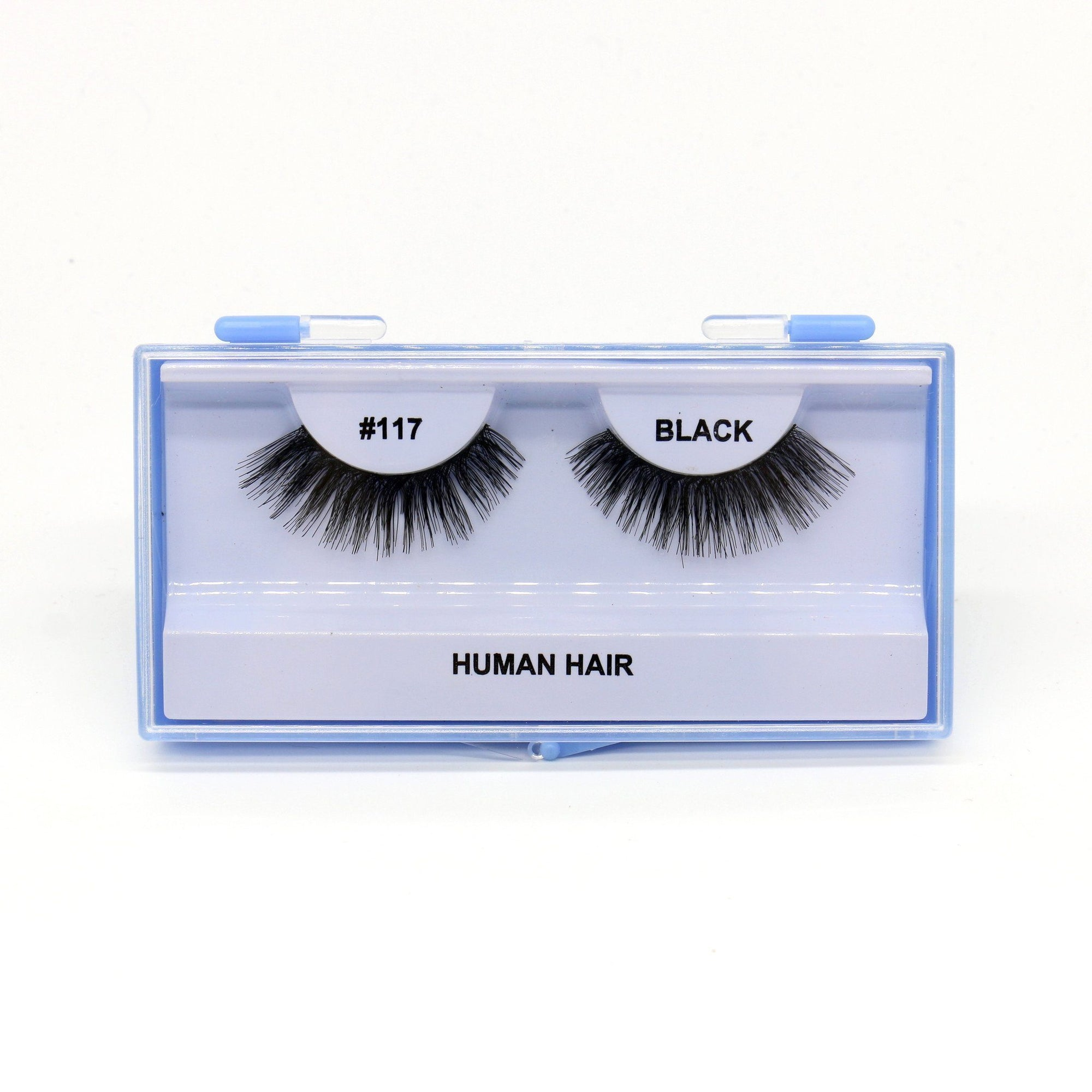 Blue Case Eyelash, #117 (6PC)