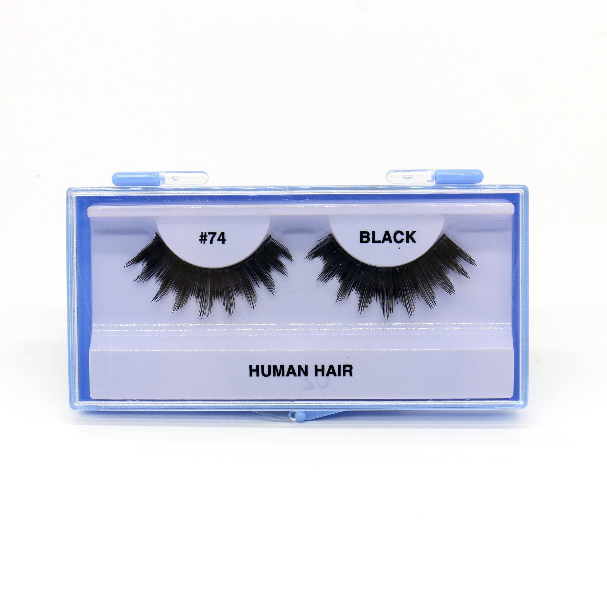 Blue Case Eyelash, #74 (6PC)