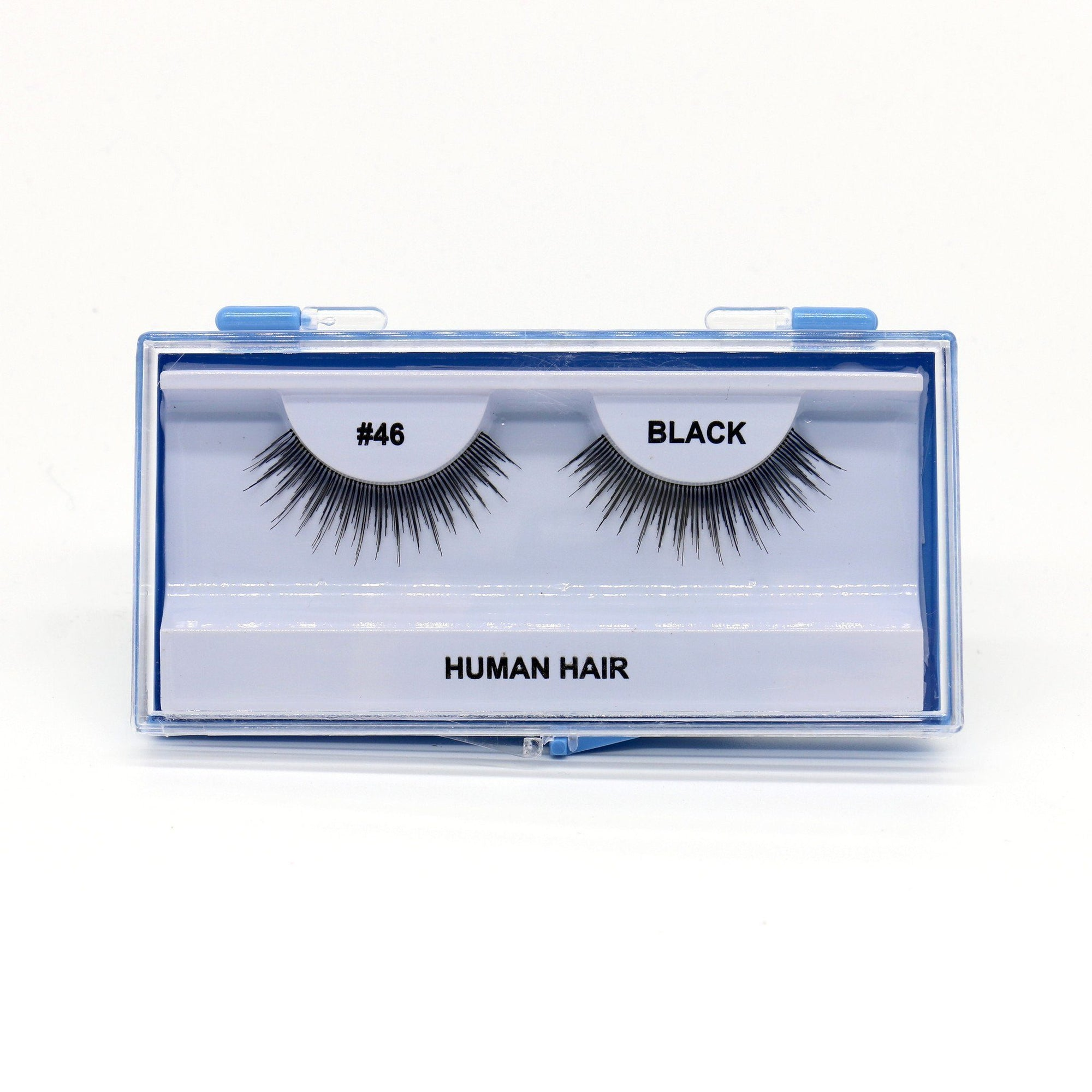 Blue Case Eyelash, #46 (6PC)