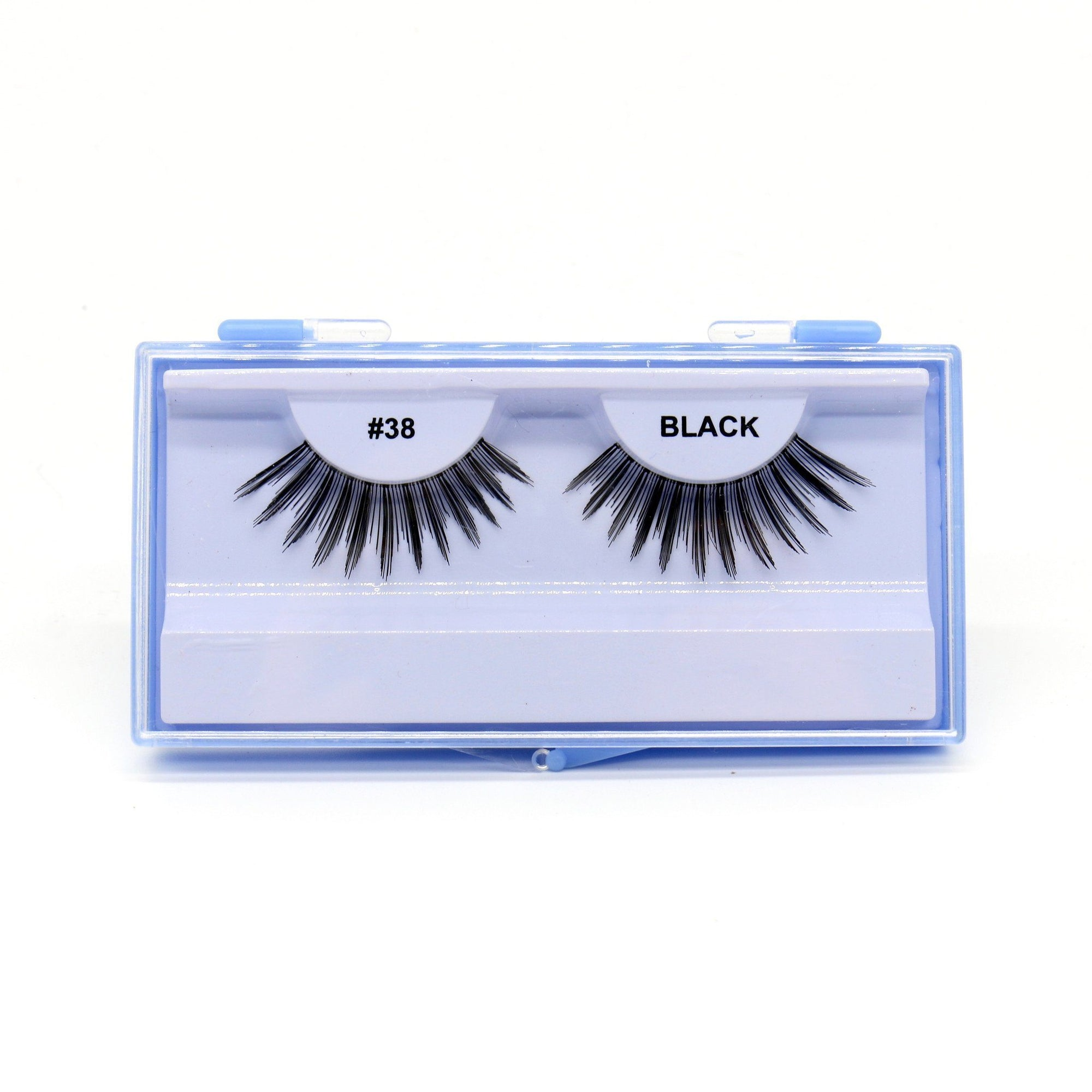 Blue Case Eyelash, #38 (6PC)