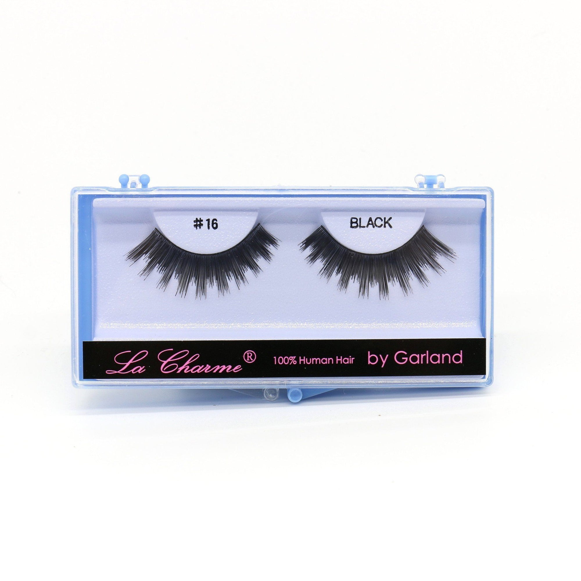 Blue Case Eyelash, #16 (6PC)