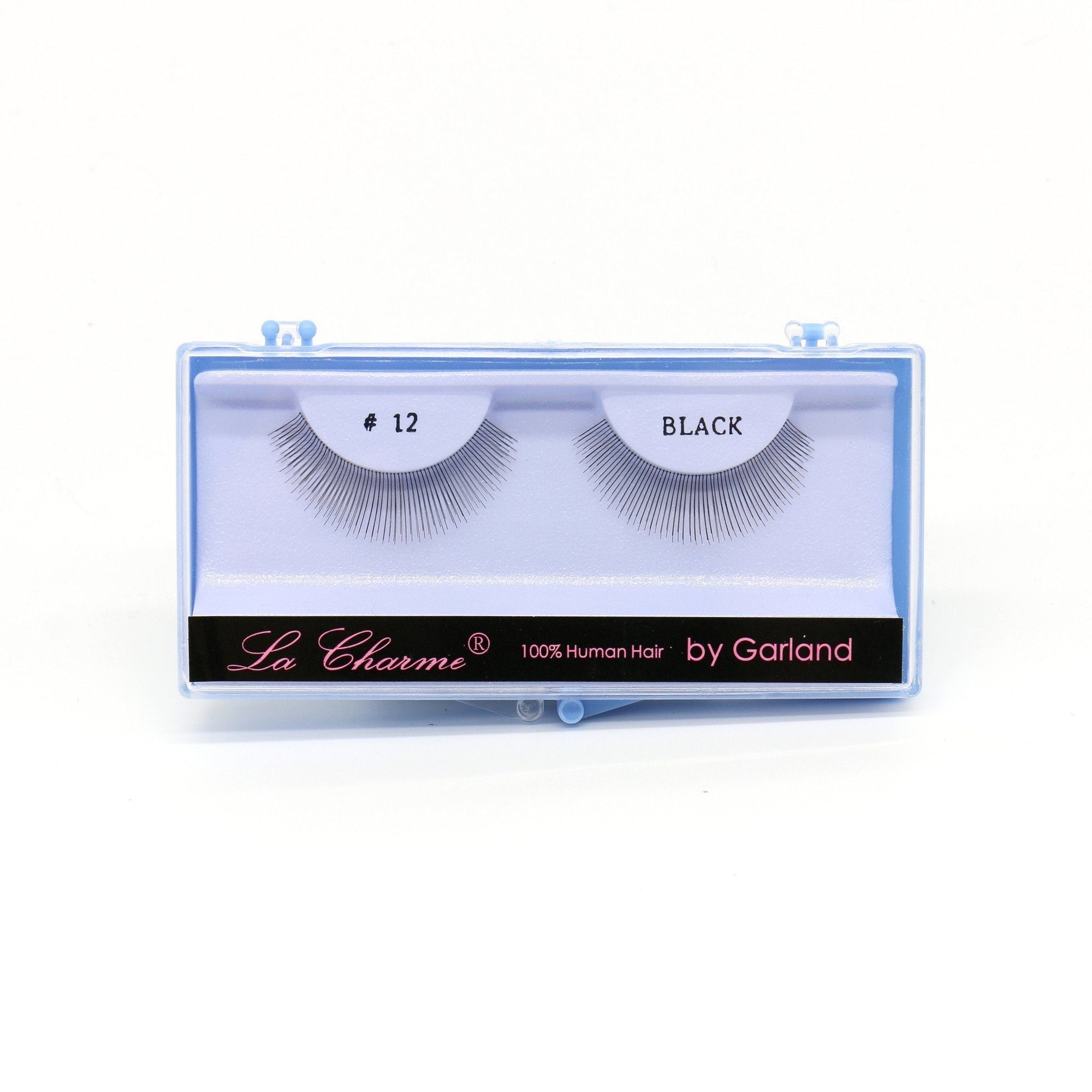 Blue Case Eyelash, #12 (6PC)