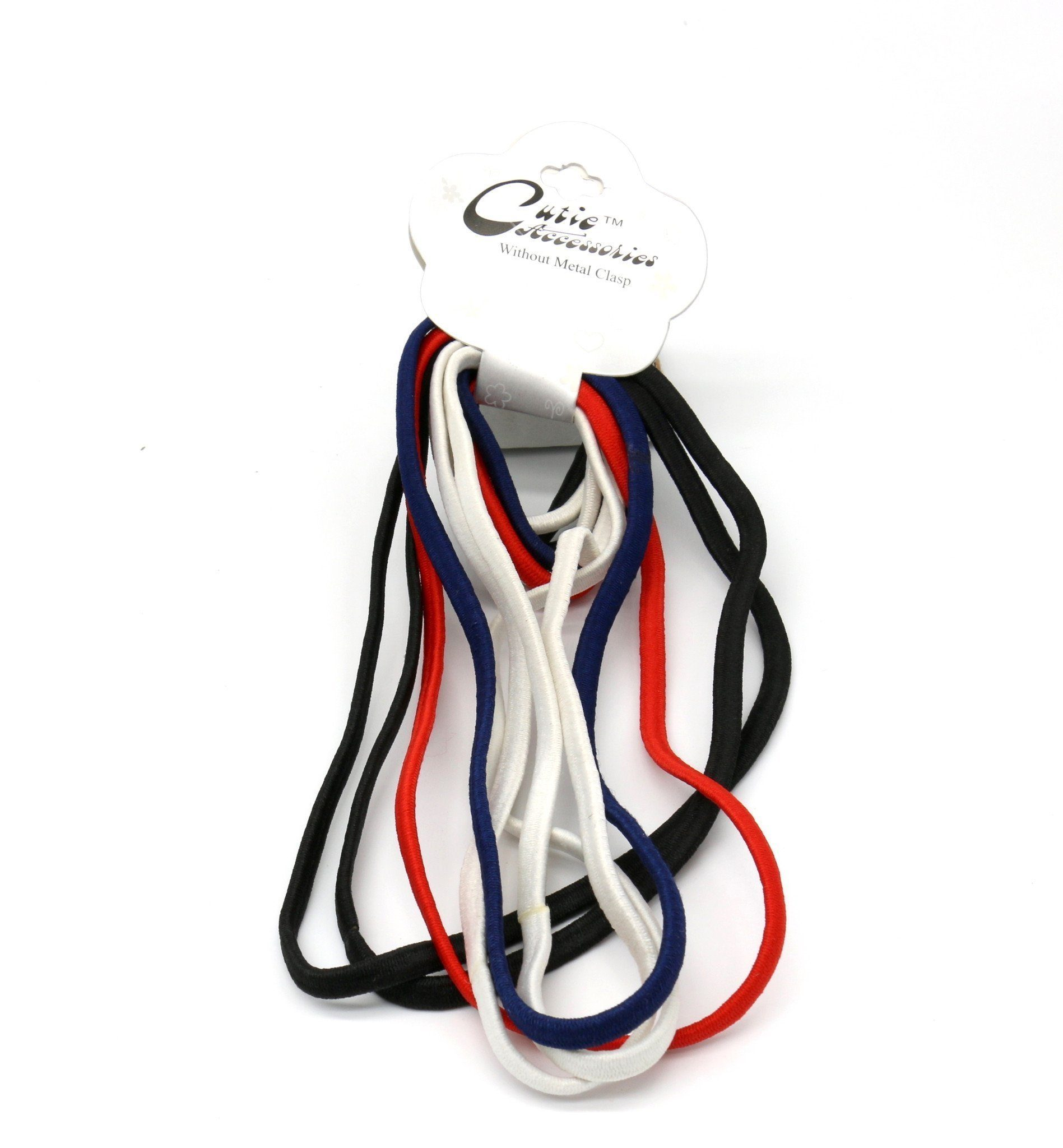 #EPT377C Thin Tommy Elastic Head Band & Rubber Band (DZ)