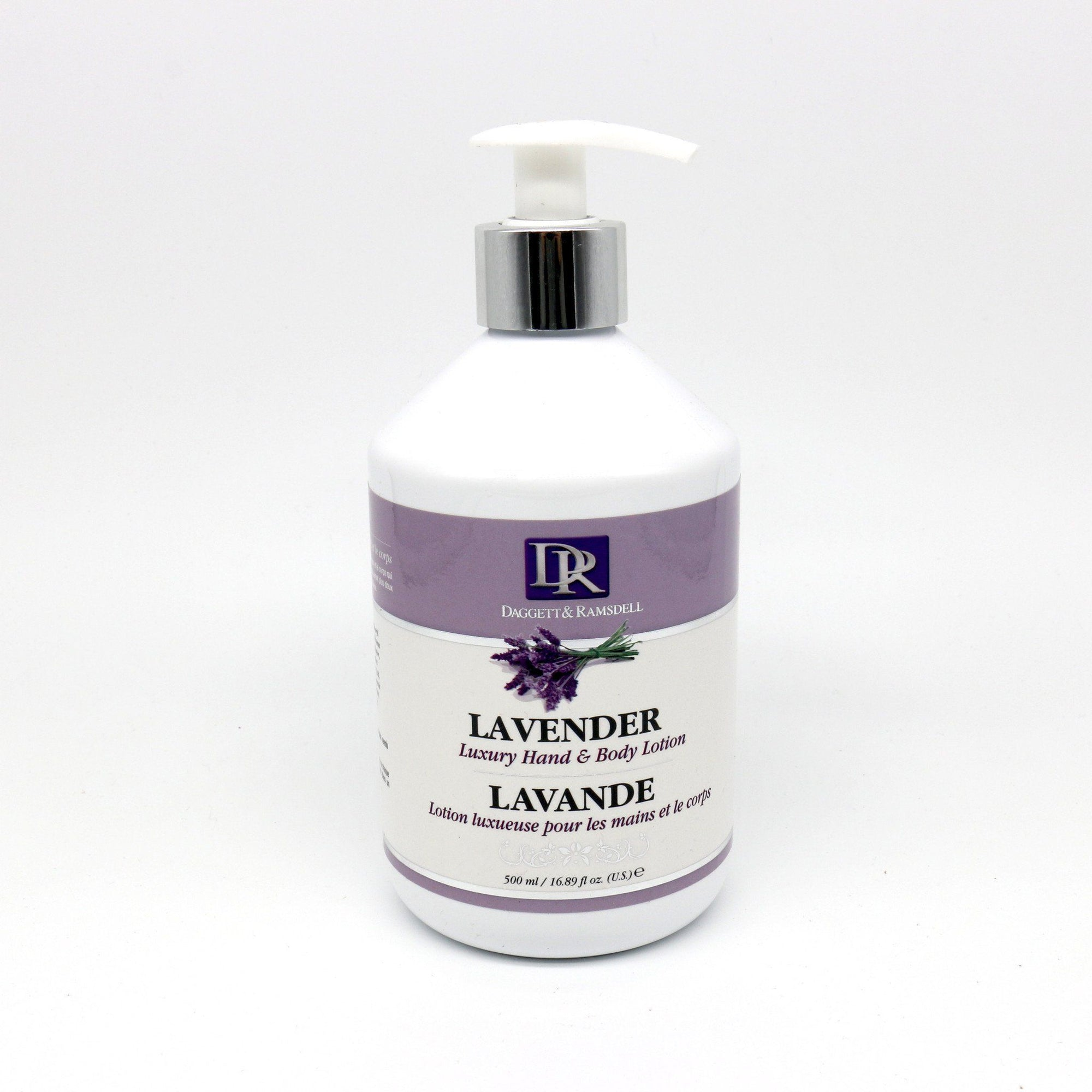 Daggett & Ramsdell Luxury Hand & Body Lotion, Lavender (PC)