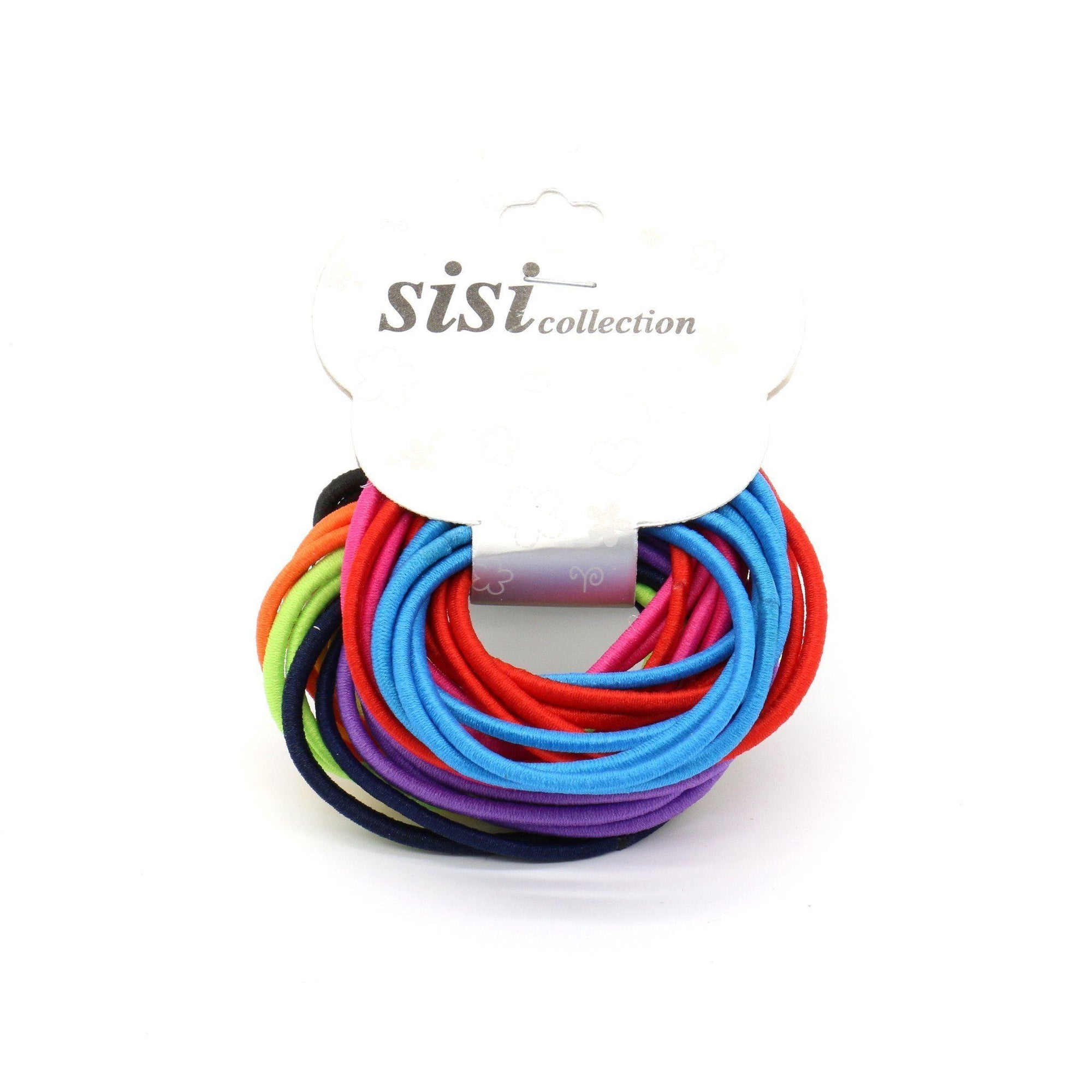 #EPT359A Thin Assorted Colors Elastic Bands (DZ)