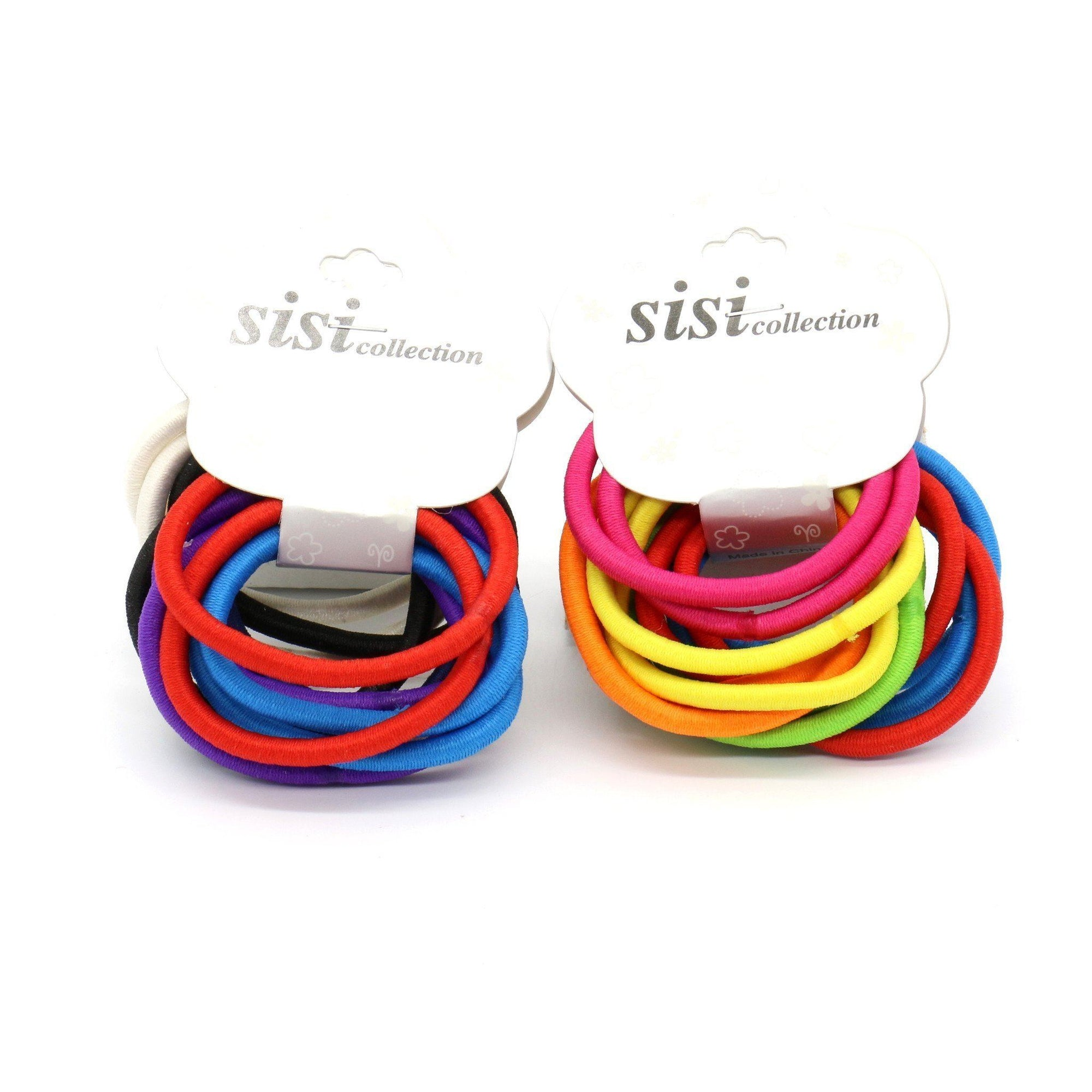 #EPT328A Thick Assorted Colors Elastic Bands (DZ)