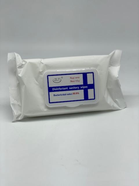 Sanitary Alcohol Wipes