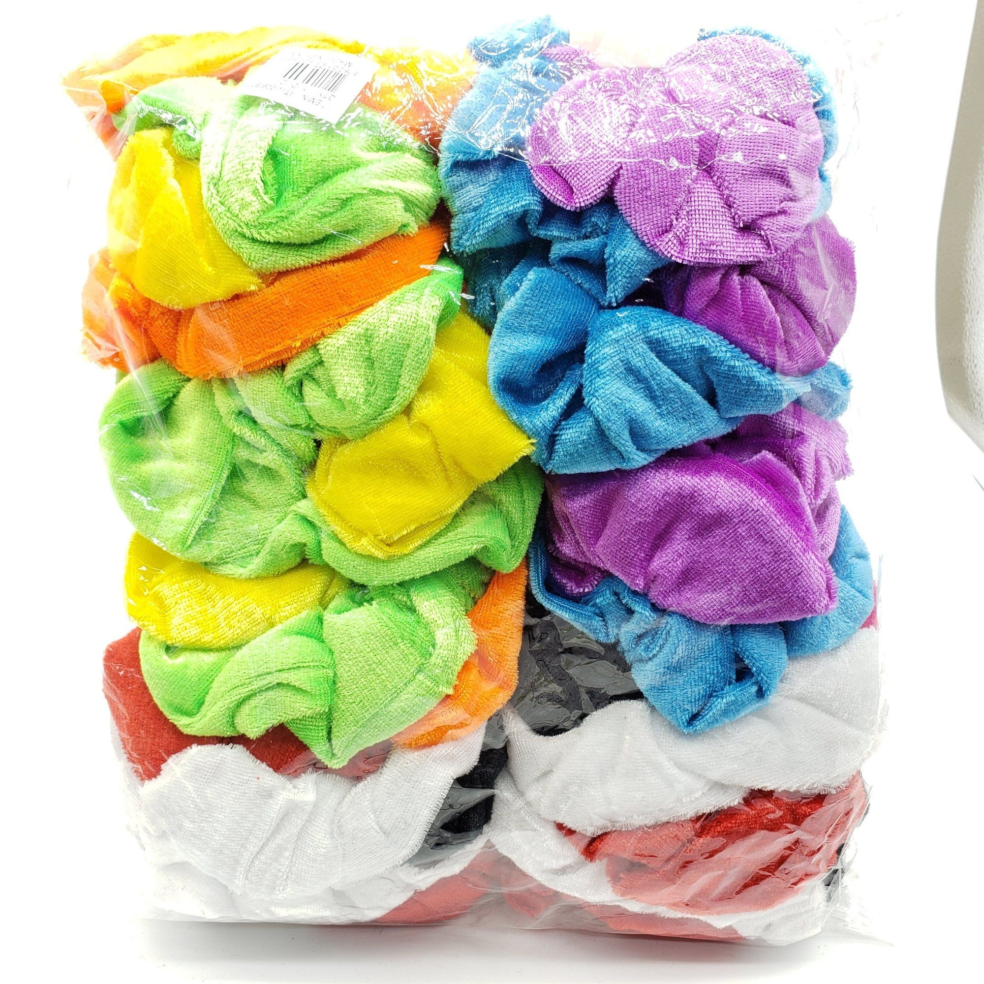 Blossom Velvet Scrunchies Assort #ITW006BT (12PC)