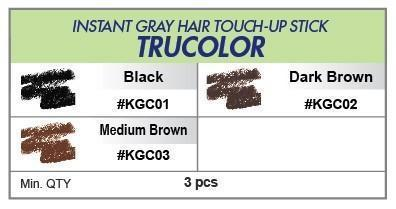 #Kgc Kiss Instant Gray Touch-Up Stick (3Pc) - Multiple Colors
