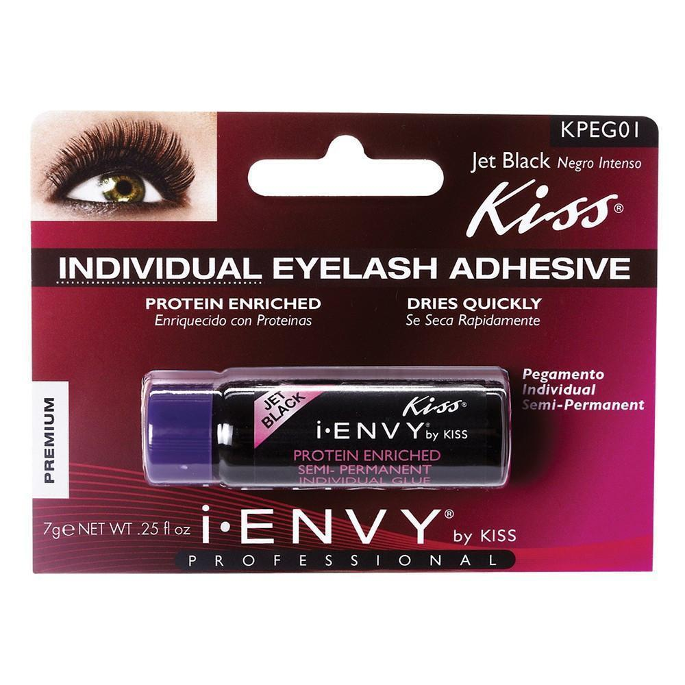 #Kpeg01 Semi-Permanent Eyelash Glue - Black (6Pk)
