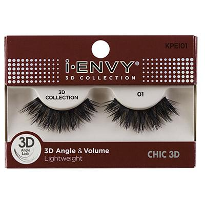 iEnvy Chic 3D Angle & Volume Eyelashes #KPEI01 (6PC)