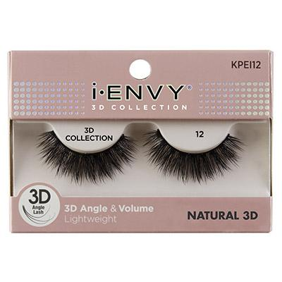 iEnvy Natural 3D Angle & Volume Eyelashes #KPEI12 (6PC)