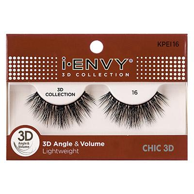 iEnvy Chic 3D Angle & Volume Eyelashes #KPEI16 (6PC)