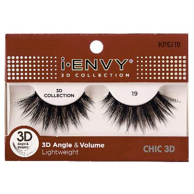 iEnvy Chic 3D Angle & Volume Eyelashes #KPEI19 (6PC)
