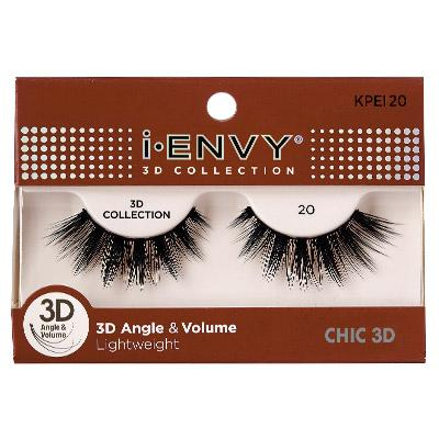 iEnvy Chic 3D Angle & Volume Eyelashes #KPEI20 (6PC)
