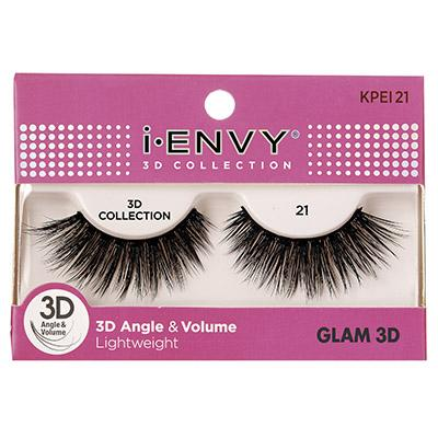 iEnvy Glam 3D Angle & Volume Eyelashes #KPEI21 (6PC)