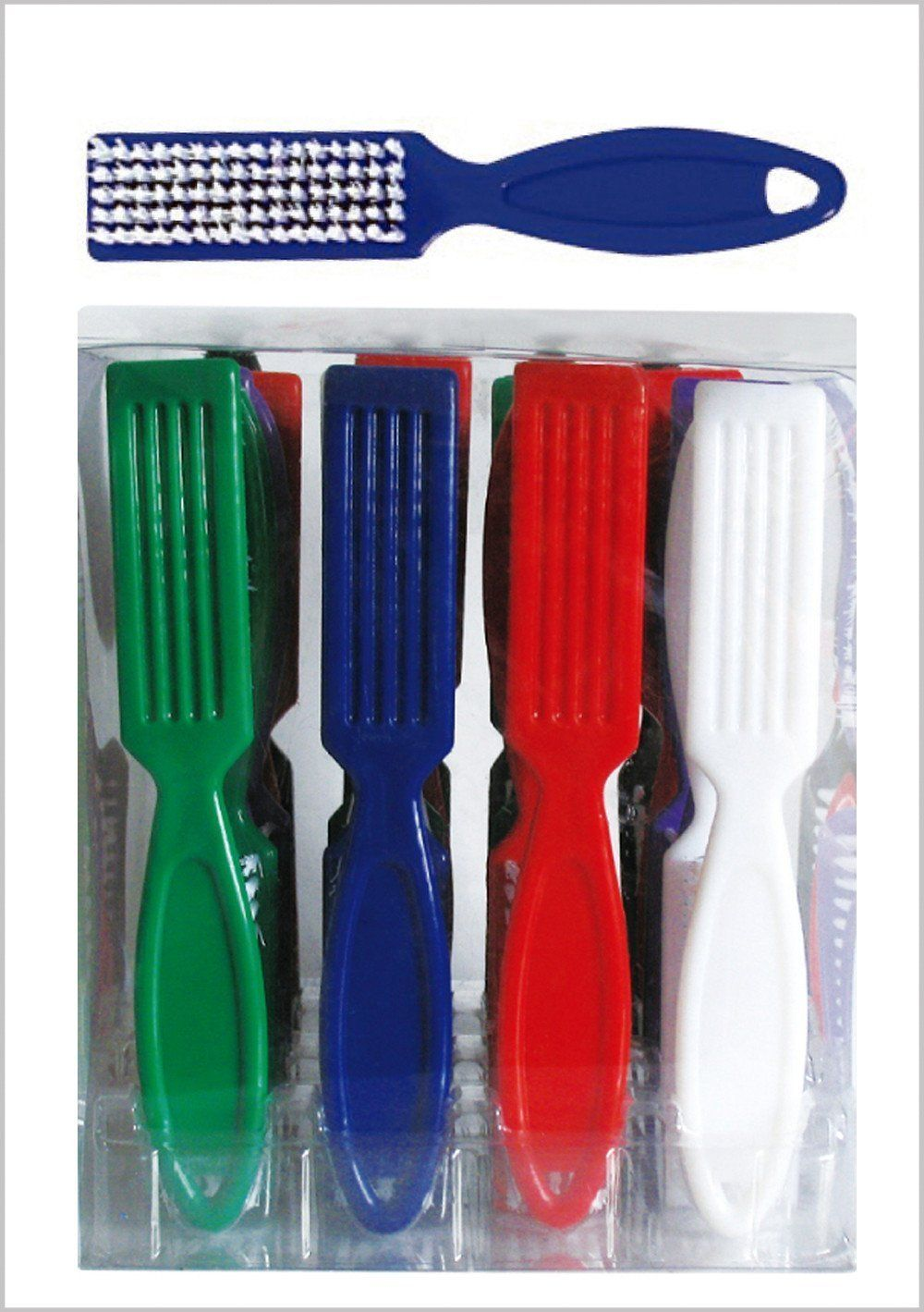 #63 Eden Assort Nail Brush (24Pc)