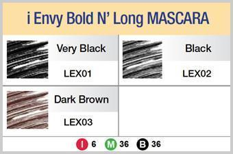 #Lex Bold N Long Mascara (6Pc) - Multiple Colors