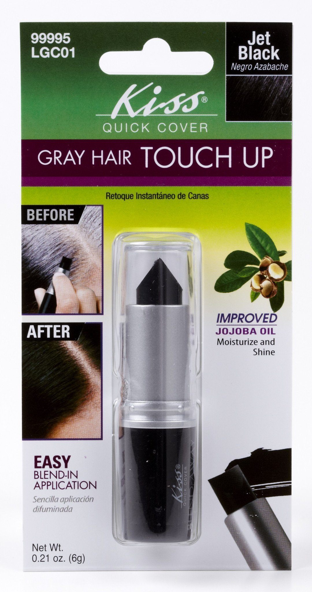 #Lgc Instant Gray Touch Up Blend-Away(3Pc) - Multiple Colors