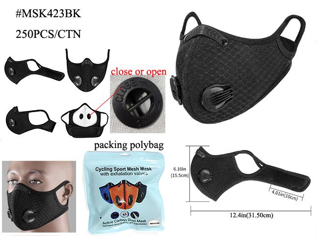 Ventilator Mask with Velcro Strap (PC)