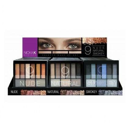 Nicka K Perfect 9 Nude / Natural / Smokey (24PC)