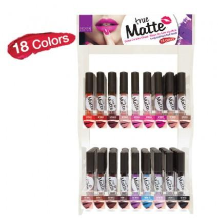 #NTM Nicka K True Matte Lipgloss Set/Display (108PC)