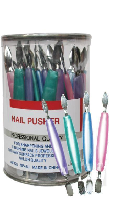 #Np48J Eden Nail Pusher 48Pc (Jar)