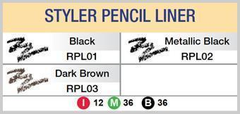 #Rpl Style Pencil W/ Sharpener (12Pc) - Multiple Colors