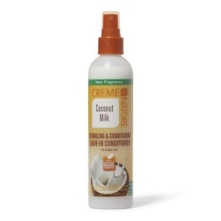 Creme of Nature Coconut Milk Detangling & Conditioning Leave-In Conditioner 12oz