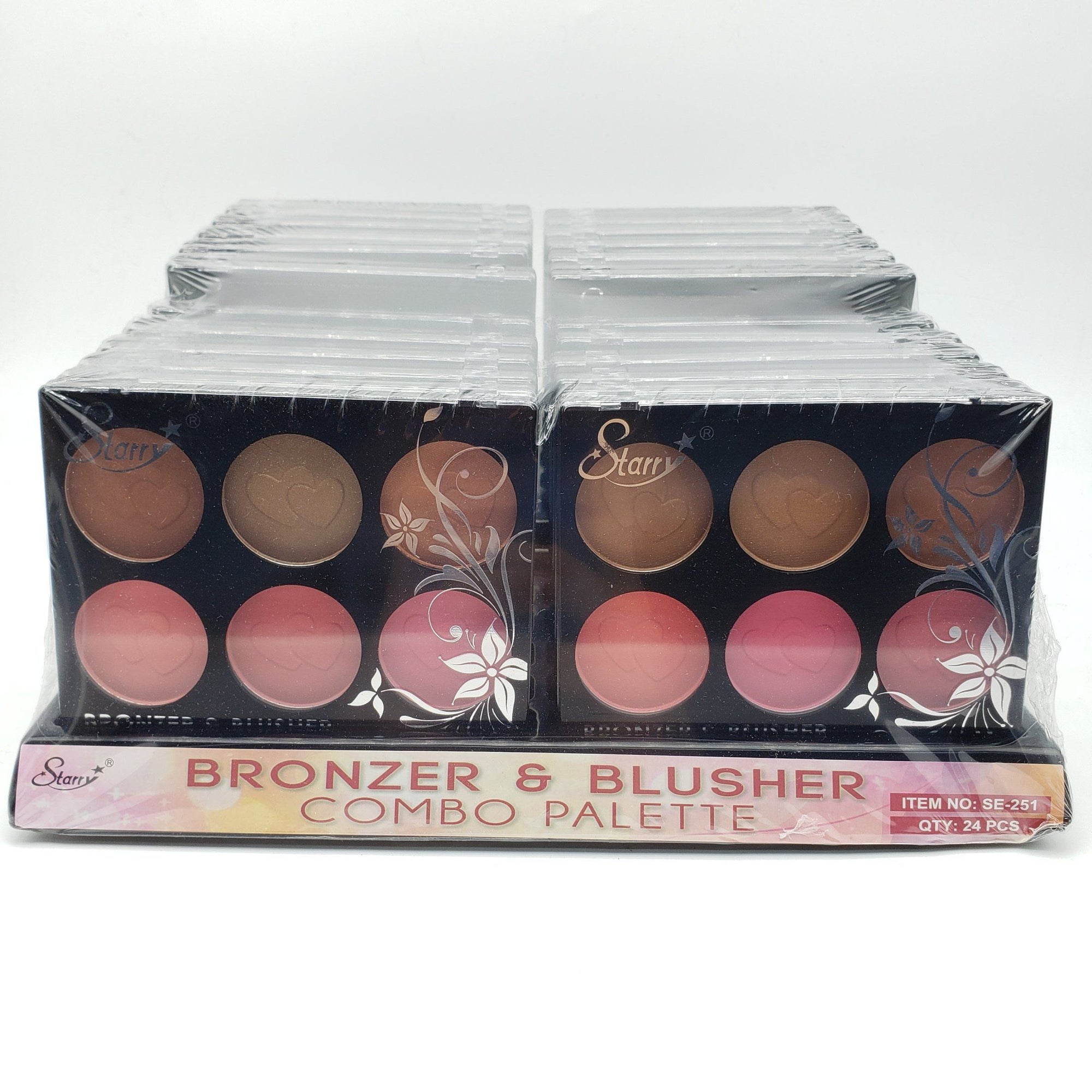 Starry Bronzer and Blush Combo Palette Set #SE251 (24PC)