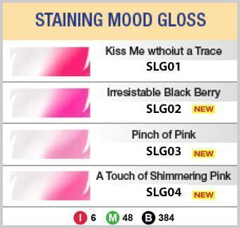 #SLG STAINING MOOD GLOSS (3PC) - MULTIPLE COLORS