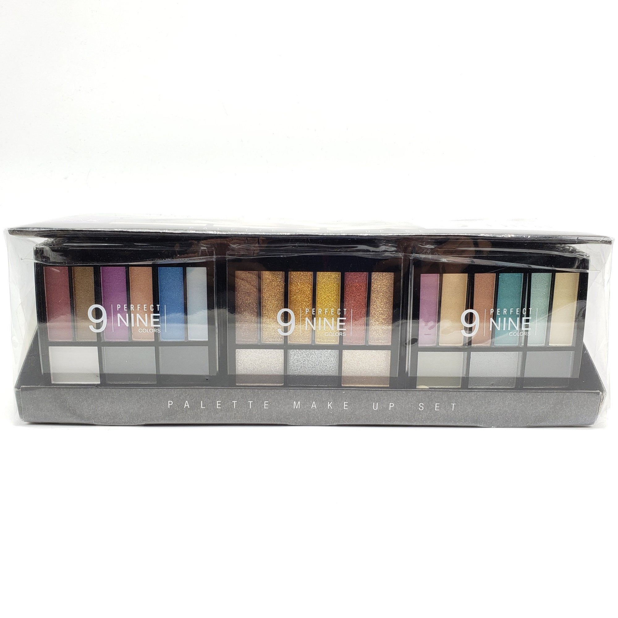 Nicka K Perfect 9 Colors Palette Makeup Set #STAP1N (24PC)