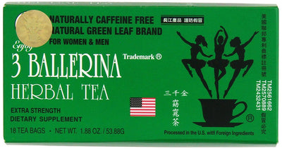 3 Ballerina Herbal Tea Extra Strength (18Bags)
