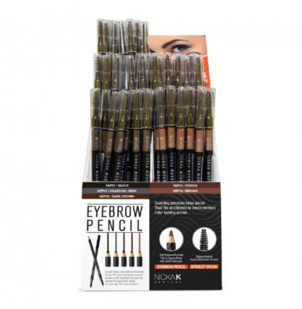 Nicka K Eyebrow Pencil Set (72PC) Display / Set #NEP