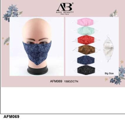Cloth/Cotton Face Mask Assort / Paisley #AFM069 (12PC)