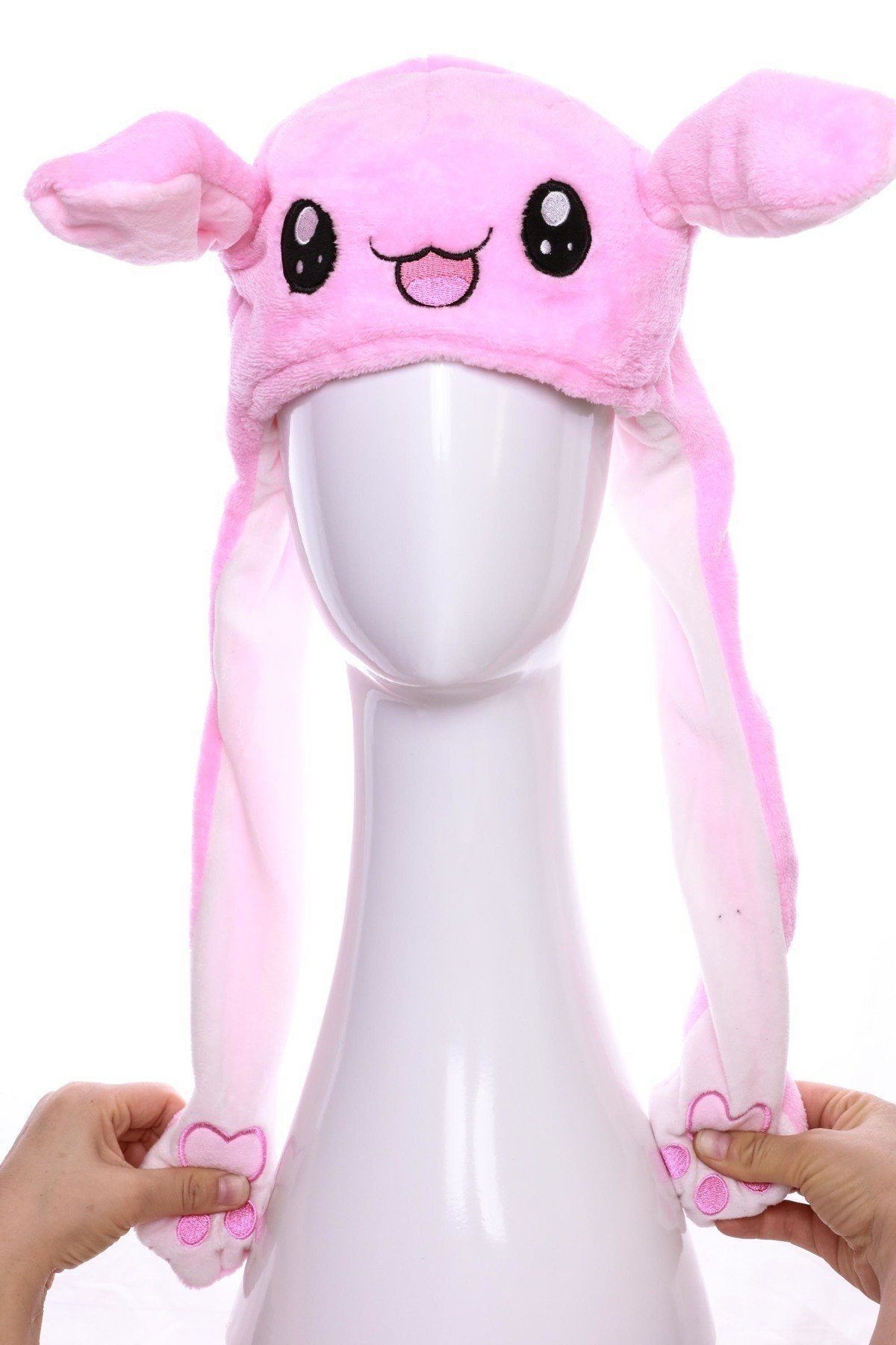 Pink Animal Moving Ear Hat (PC)