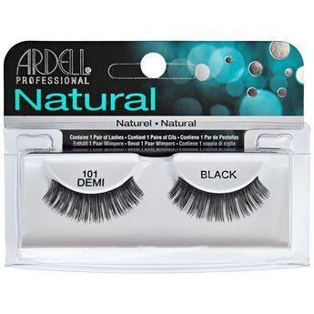 Ardell Natural Demo Black Eyelashes #101 (4PC)