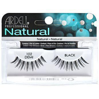 Ardell Natural Demi Black Eyelashes #102 (4PC)