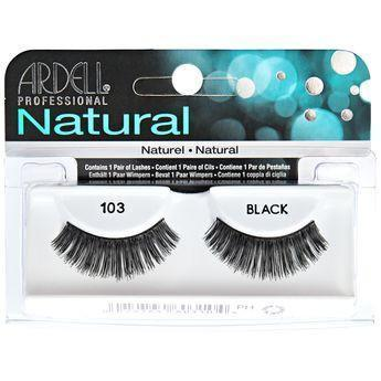 Ardell Natural Black Eyelashes #103 (4PC)