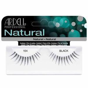 Ardell Natural Black Eyelashes #104 (4PC)