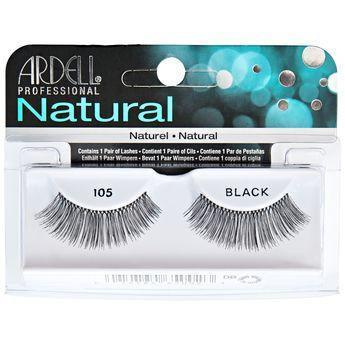 Ardell Natural Black Eyelashes #105 (4PC)